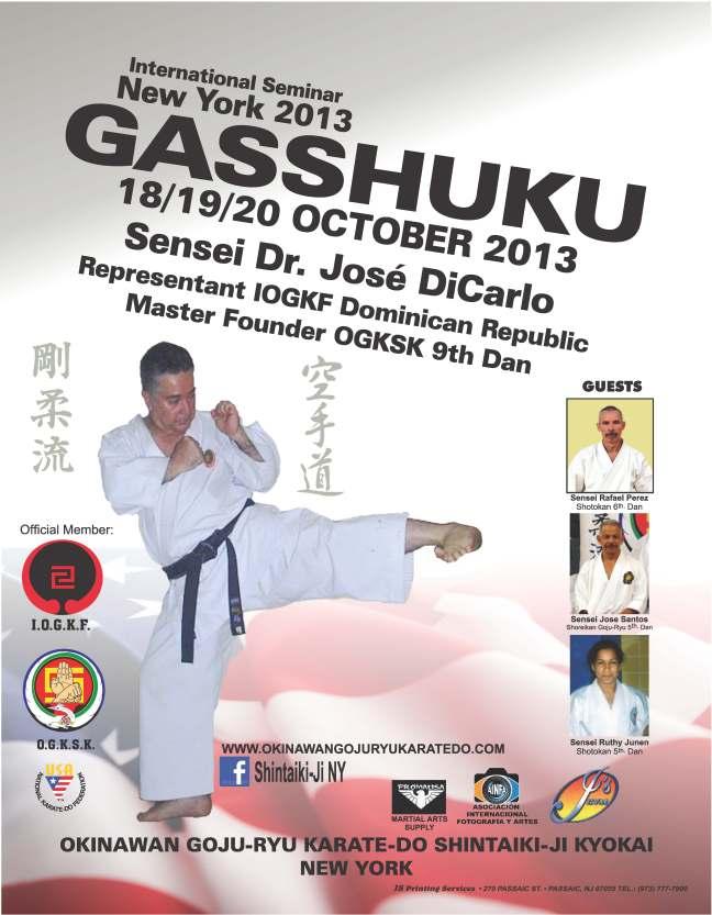 New York Gasshuku with Jose DiCarlo 9th Dan