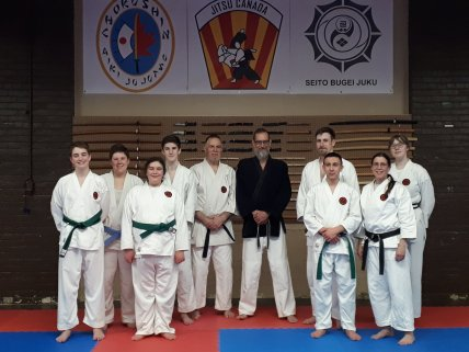 First Combo Class at PMSC End of Session 27 Mar 2019